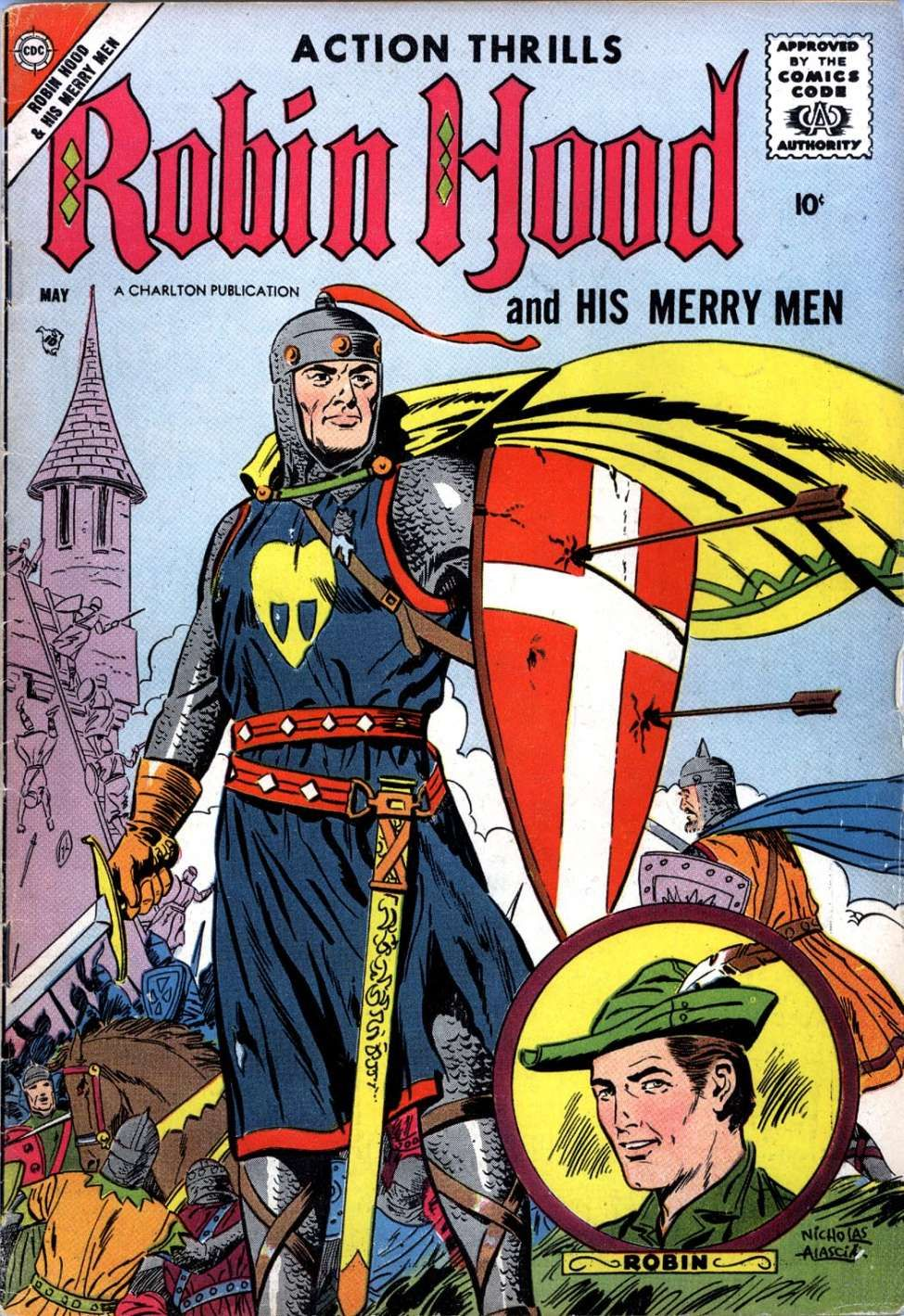 Comic Book Cover For Robin Hood and His Merry Men v3 #37