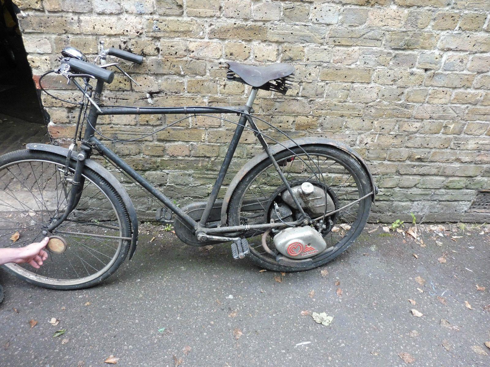 Autocycle Cyclemaster Project Suzuki Motorcycle Vintage Bikes Motorcycle