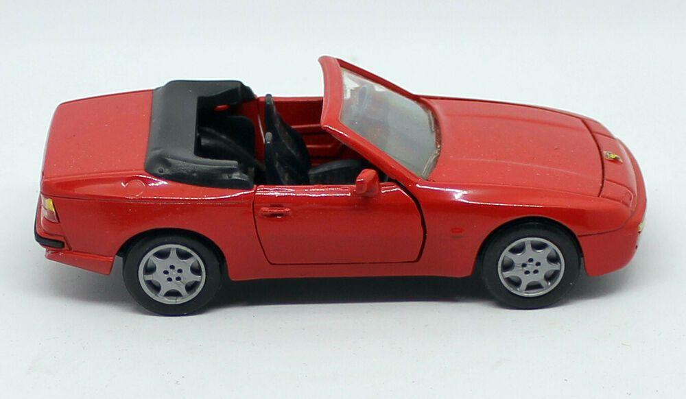 Nzg Werbemodell 034 Porsche 944 Cabrio 034 Modellauto Im Massstab 1 43 Mit Box Porsche 944 Mercedes Benz Unimog Modellauto