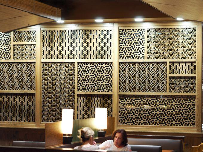 Custom Woodwork For A Restaurant In Las Vegas Nv Wall
