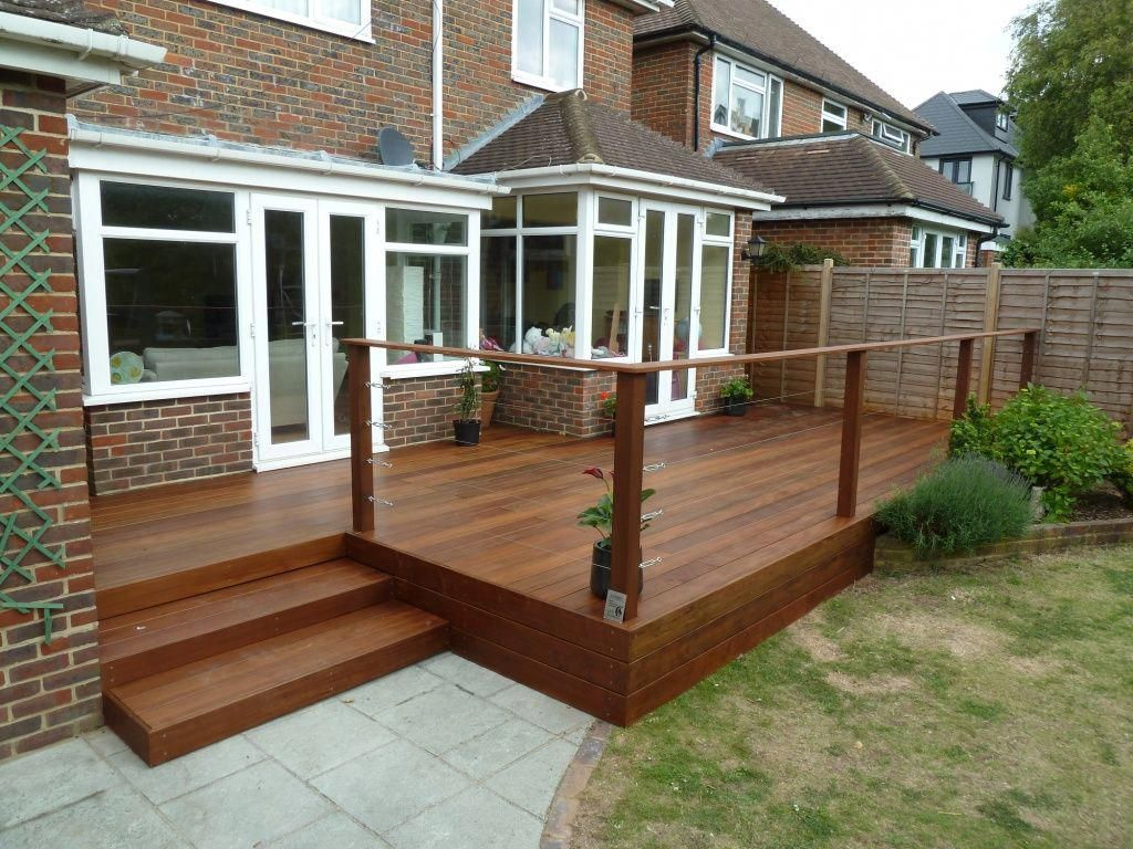 Best The Completed Build Building A Deck Outdoor Living Deck 640 x 480
