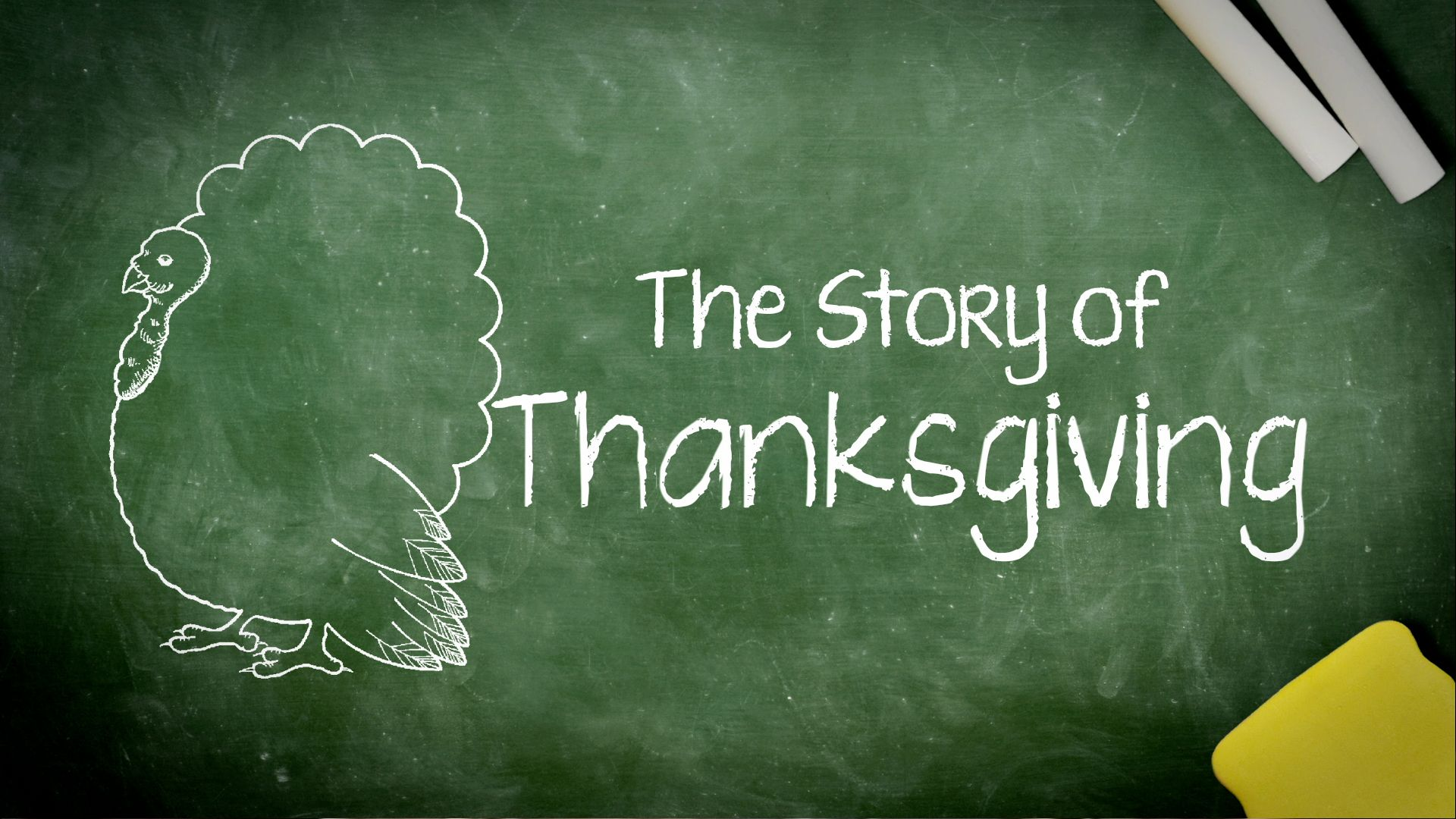 Kids History: The First Thanksgiving Video - History of Thanksgiving ...
