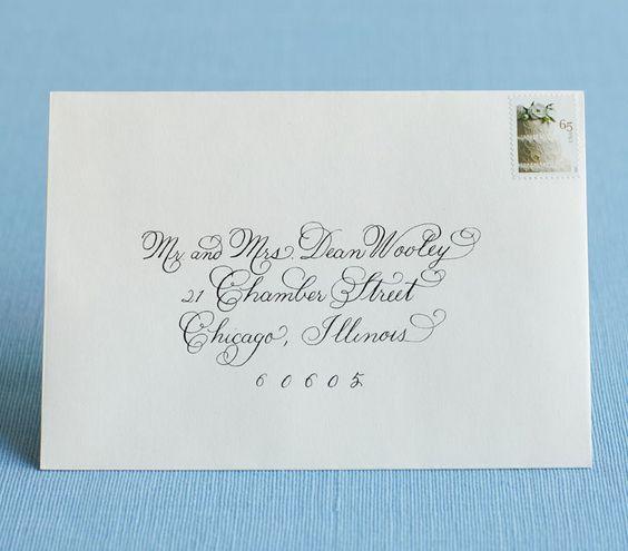 Addressing Wedding Invitations And Envelopes Team Blog