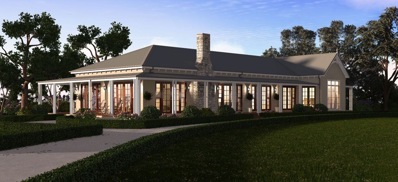 Hensley park homes the mitchell a signature country for Australian country style homes