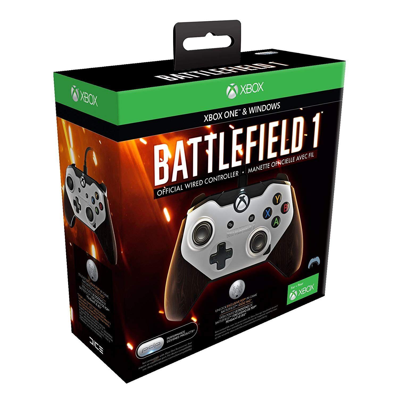 Pdp Manette Filaire Officielle Battlefield 1 Xbox One Compatible Pc Xbox 1 Manette Xbox