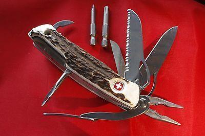 Details About Vintage Victorinox Swiss Knife Multi Blade
