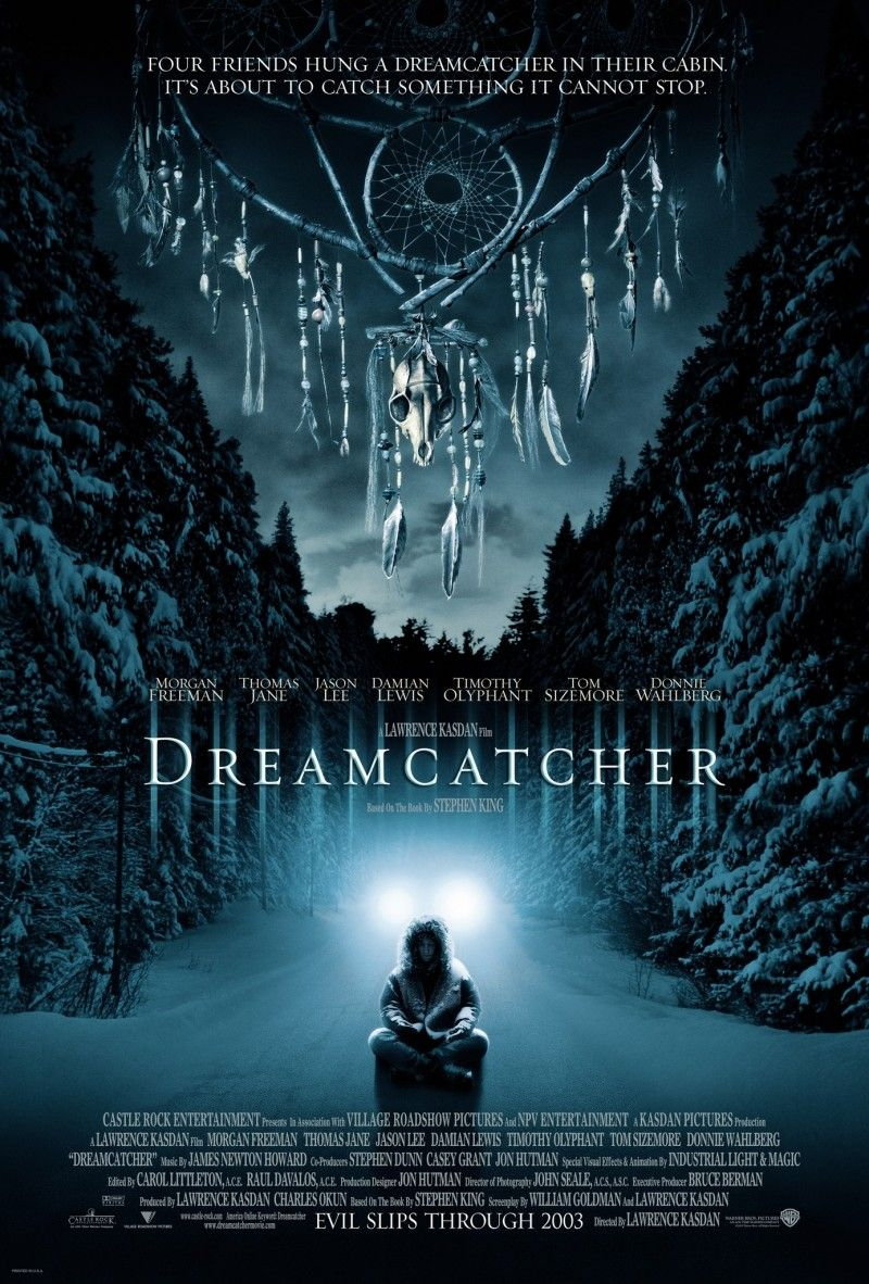 Dreamcatcher Cartazes De Filmes De Terror Stephen Kings