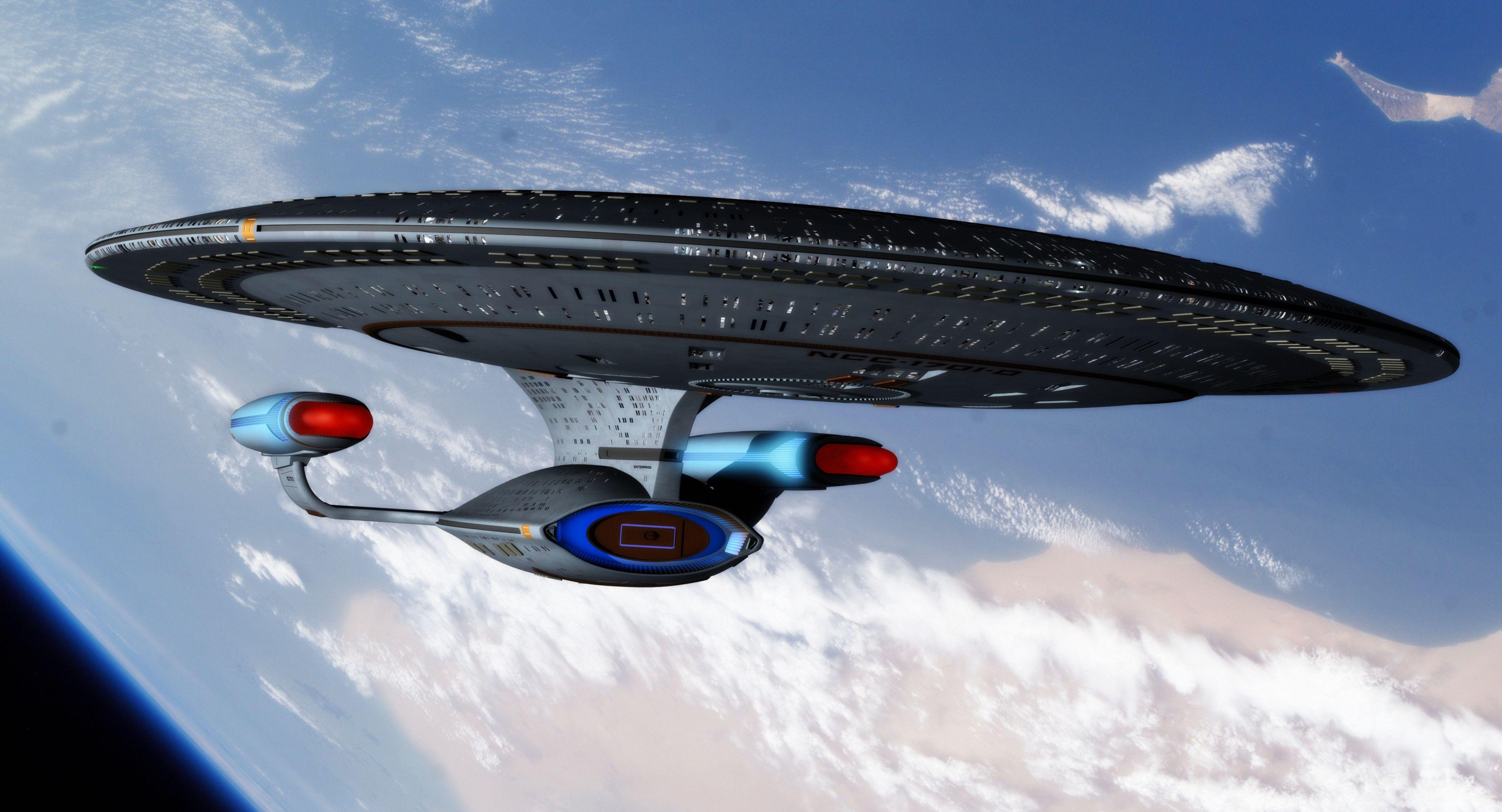 Uss enterprise ncc 1701 d galaxy class saucer separation r flickr - Uss Enterprise Ncc 1701 D By Thefirstfleet Deviantart Com