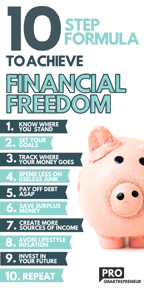 "There are so many ways to earn passive income and create financial stability. Check out this awesome list to get yourself started making money today. Attaining ""Financial freedom"" is all about taking ownership of your finances. The spending, earnings, and everything in between. Learn how to achieve financial freedom and get financial planning tips.  #money #financialfreedom #makemoney #savingmoney savings plan money-saving tricks finance tips money planning money budgeting ideas"