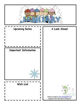 Elementary Newsletters All 12 Months Preschool Newsletter Templates Preschool Newsletter Classroom Newsletter