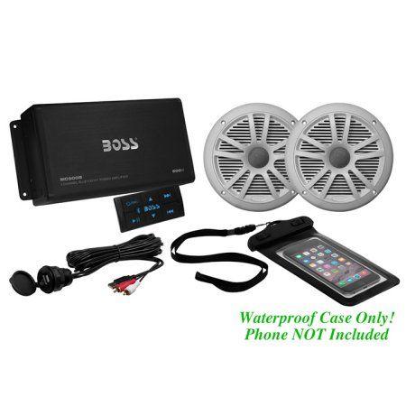 Boss Audio ASK902B 6 500-Watt 4-Channel Bluetooth Amplifier