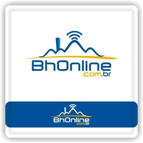 Arte campeã do projeto BhOnline.Com.BR #logovia #logodesign #logomarca