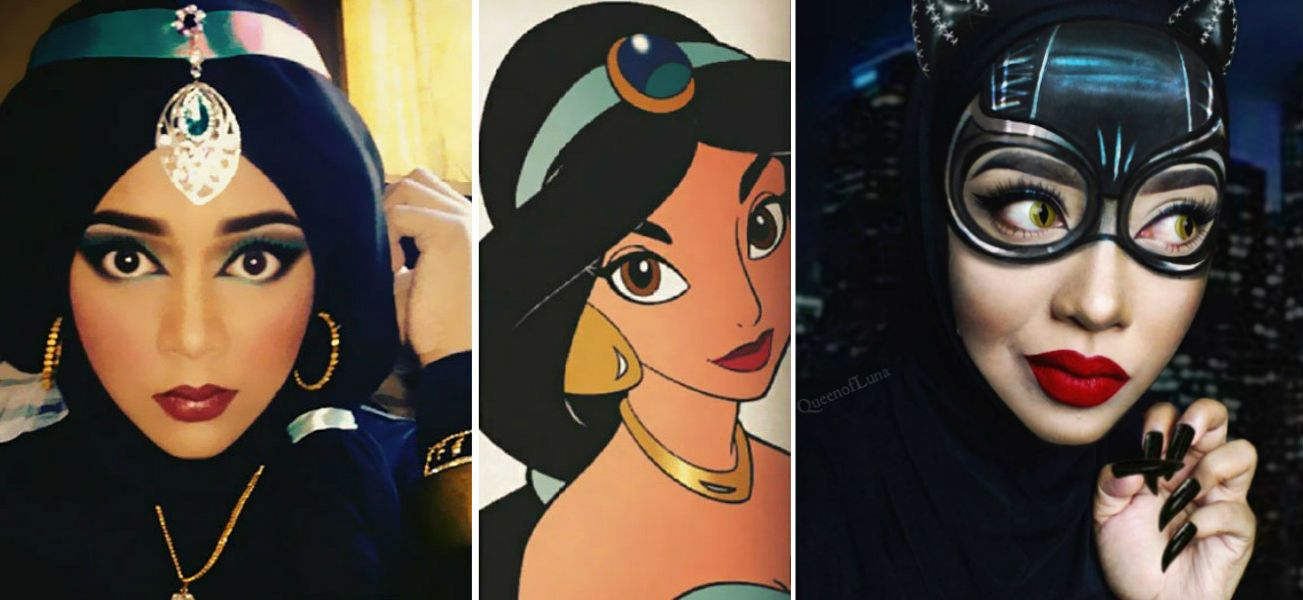 This Makeup Artist Uses Her Hijab to Turn into Disney Characters