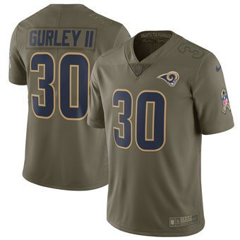 Cheap Todd Gurley Los Angeles Rams Nike Salute To Service Limited Jersey  supplier