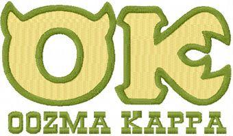 Oozma Kappa machine embroidery design