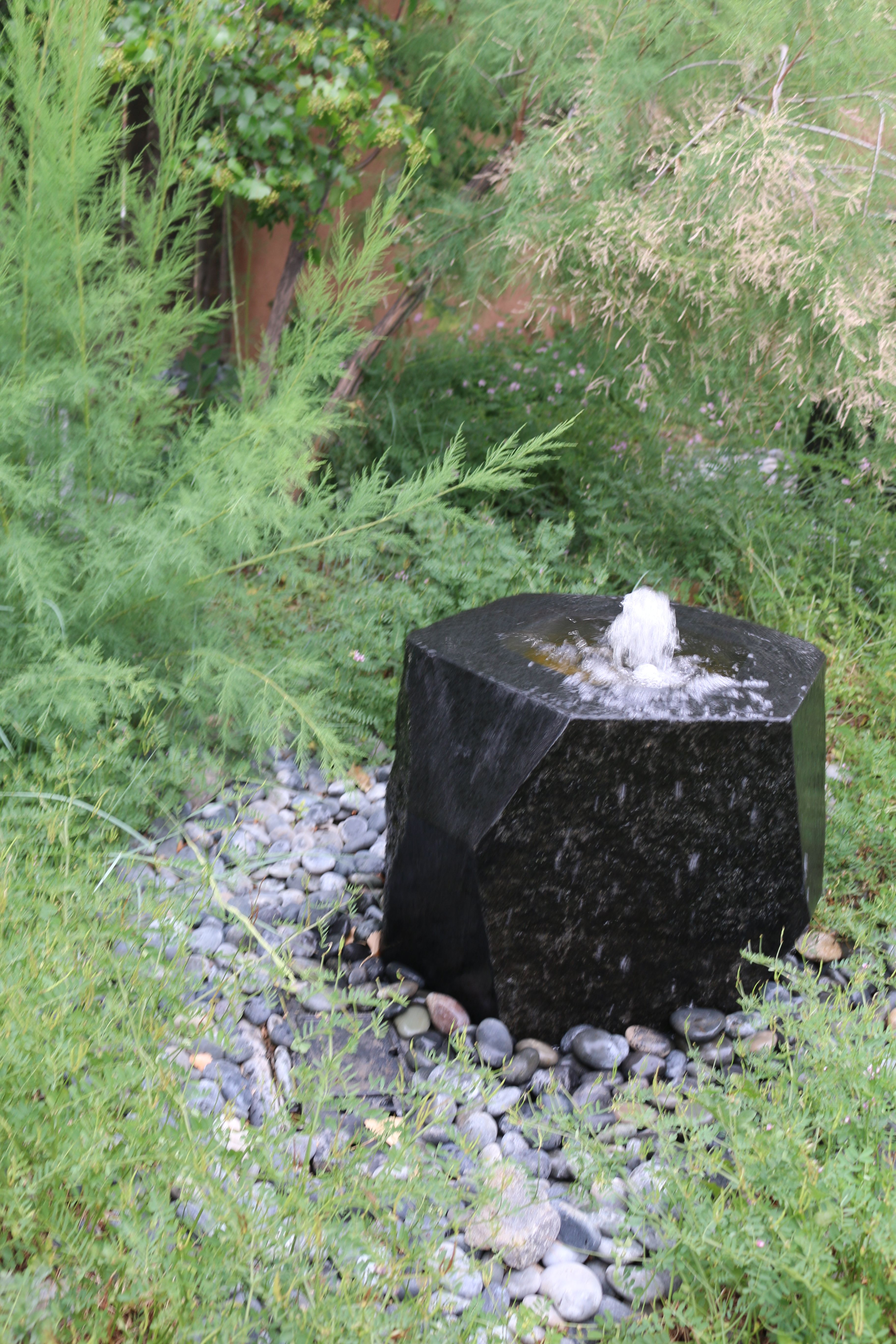Stone Fountain From Stone Forest, Santa Fe, NM. Water Feature. Www.