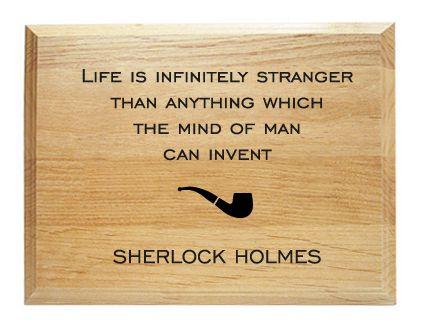 Sherlock Holmes Quotes The great sherlock holmes