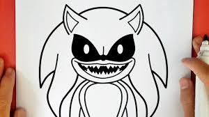 Dibujo Para Colorear Sonic Malo Buscar Con Google Dibujos Para