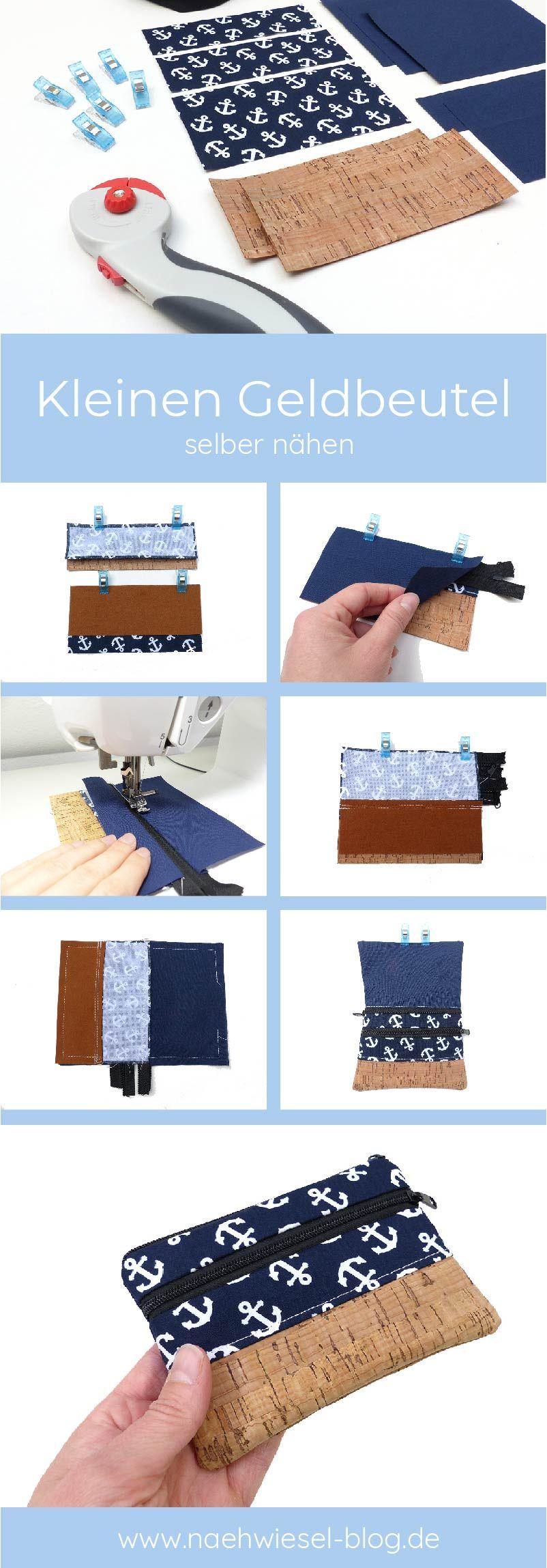 Photo of Nähen Sie selbst eine kleine Brieftasche
