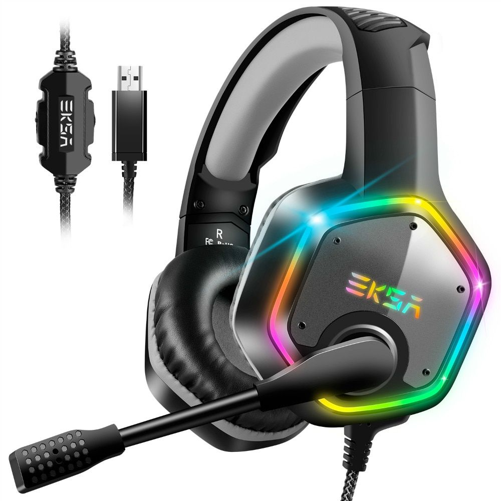 E1000 7.1 Surround Sound Gaming Headset With Microphone