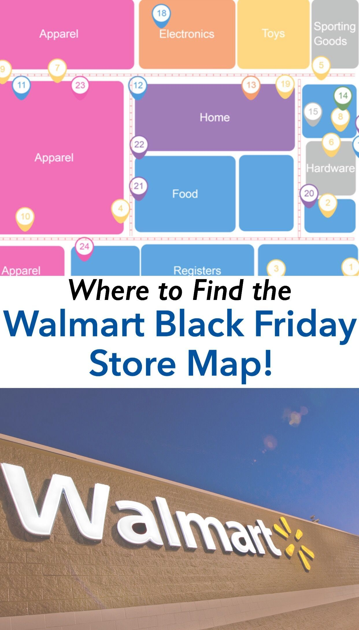 Where To Find The Walmart Black Friday Store Map Layout Bradsdeals Walmart Blackfriday Walmartblackfriday Walmart Black Friday Stores Walmart Map Layout