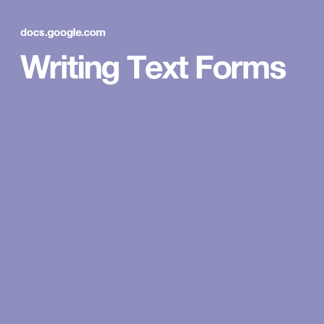 Text Form, Getting Things Done