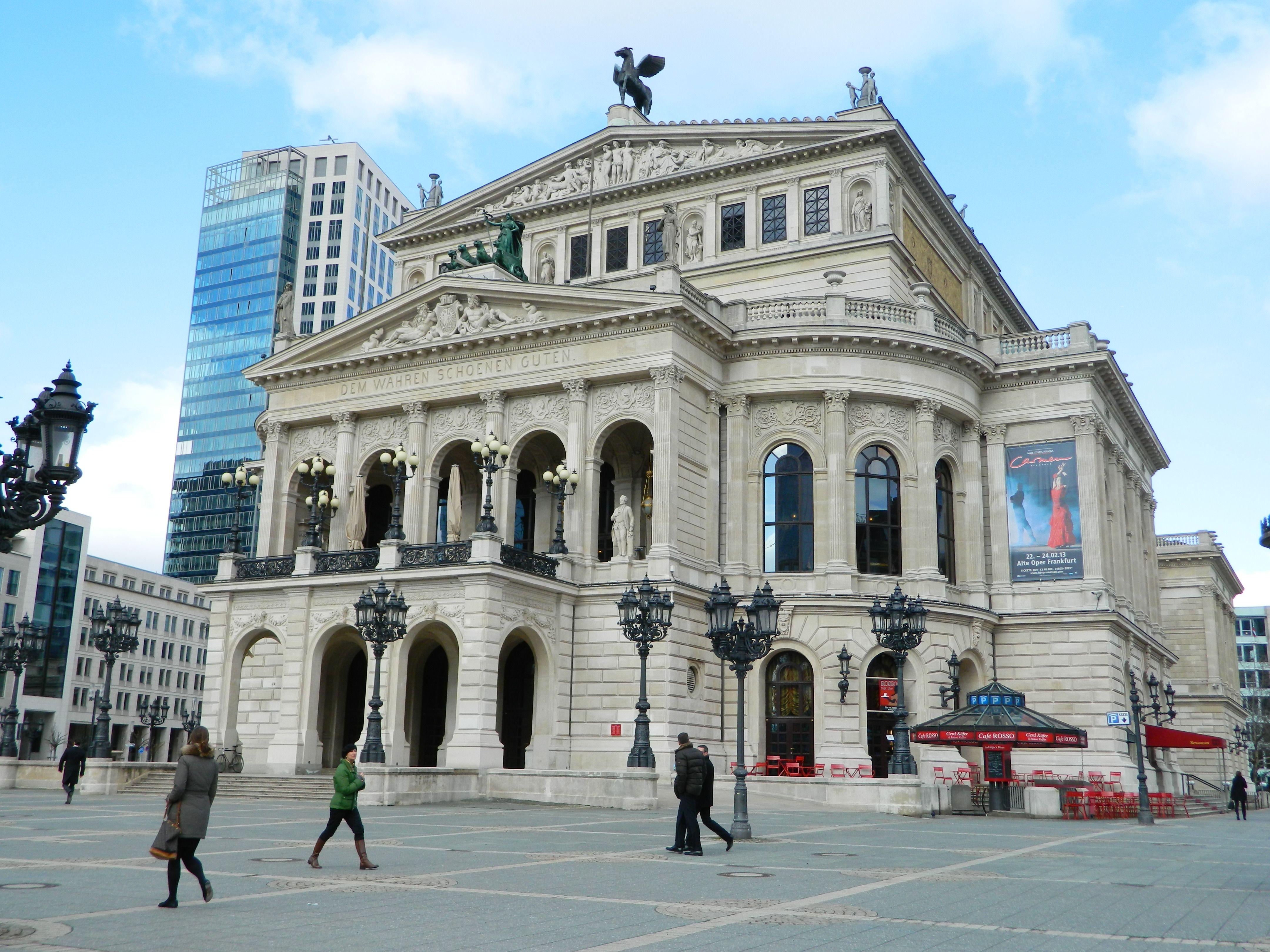 Die Alte Oper - Frankfurt, Germany