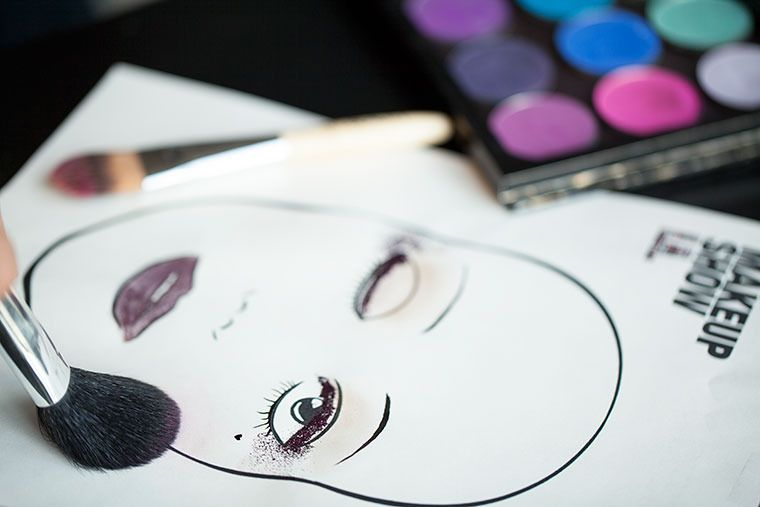 Face Charts Part 1: Create a Winning Look.  Im GOING to start doing this before I do makeup for clients!!!!