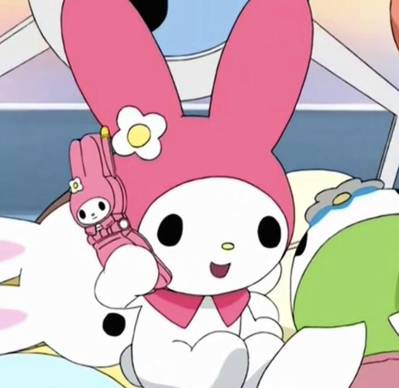 ⋆ฺ。*:・ anime : onegai my melody my melo lq icon sanrio ...