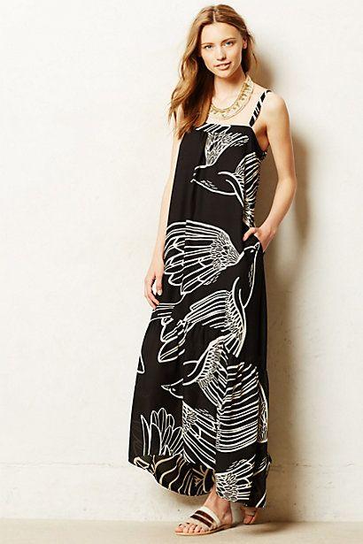 Oiseau maxi dress #anthrofave