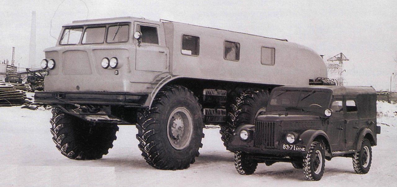 Unique Soviet Snow Mobile Zil E167 Trucks Military Vehicles Big Trucks