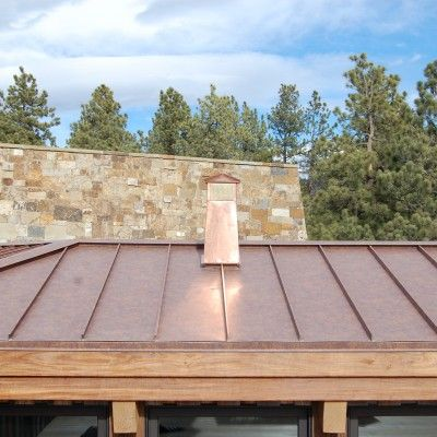 Western Rust   Coated Metals Group, Standing Seam Metal Roof, Mountain  Home, Rustic