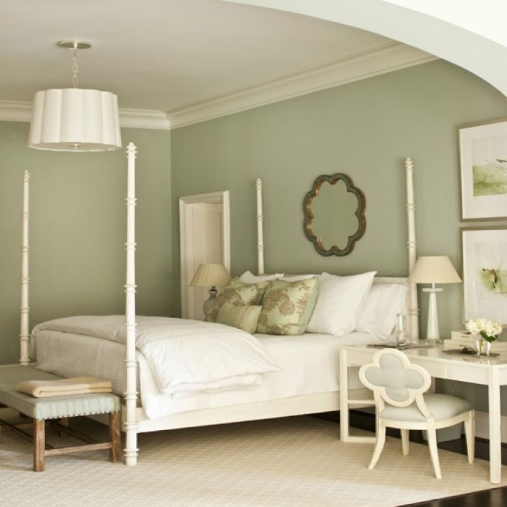 sage green paint colors bedroom rustic bedroom on decorator paint colors id=14859