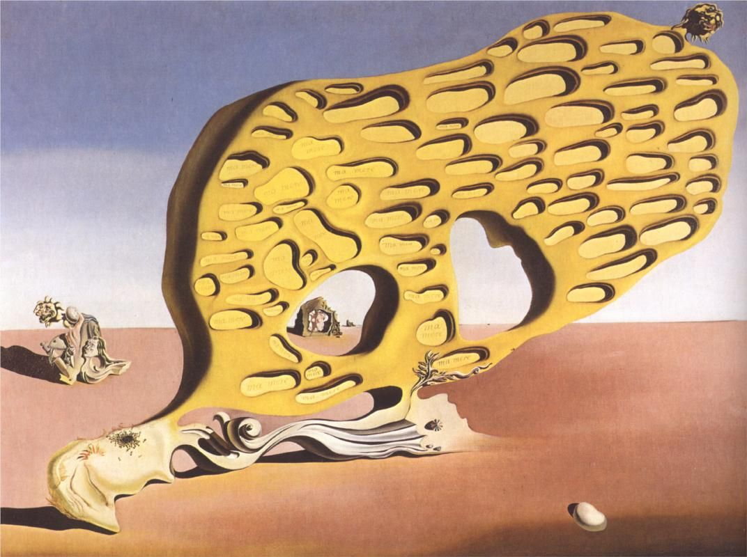 Salvador Dali - The enigma of my desire or my mother, 1929 ...