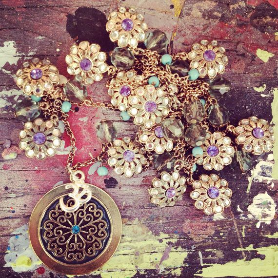Ohm Necklace for Halina by addiewuensch on Etsy, $38.00
