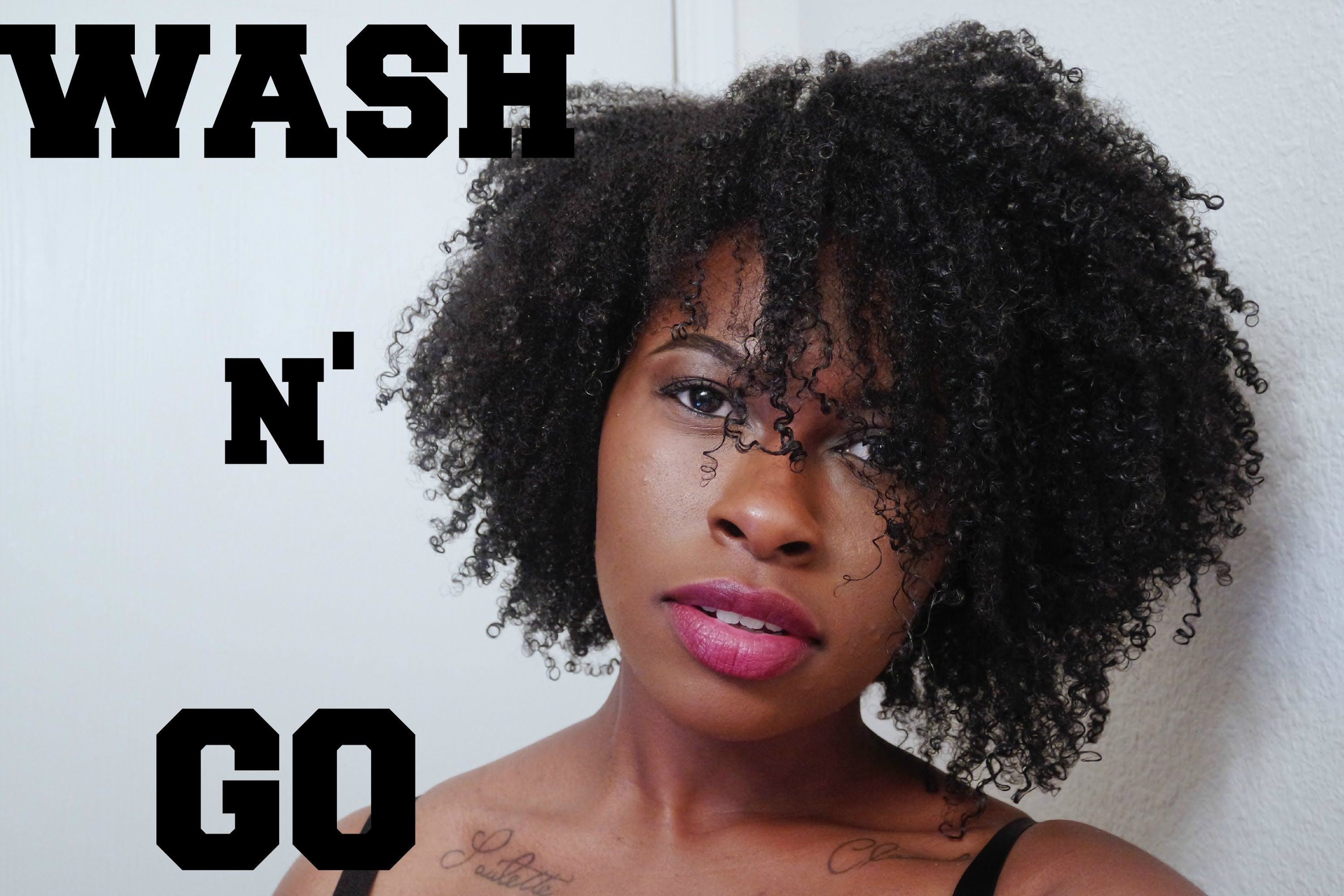Wash And Go Hairstyles For Thick Hair Natural Hair  Perfect Summer Wash & Go On 4B 4C Hair  Hair