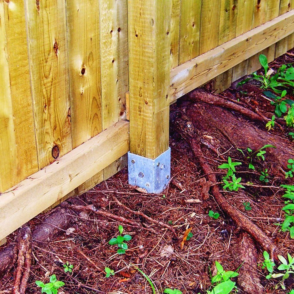 Oz Post T4 850 4 In Square Wood Post Anchor Yard And Garden Ideas