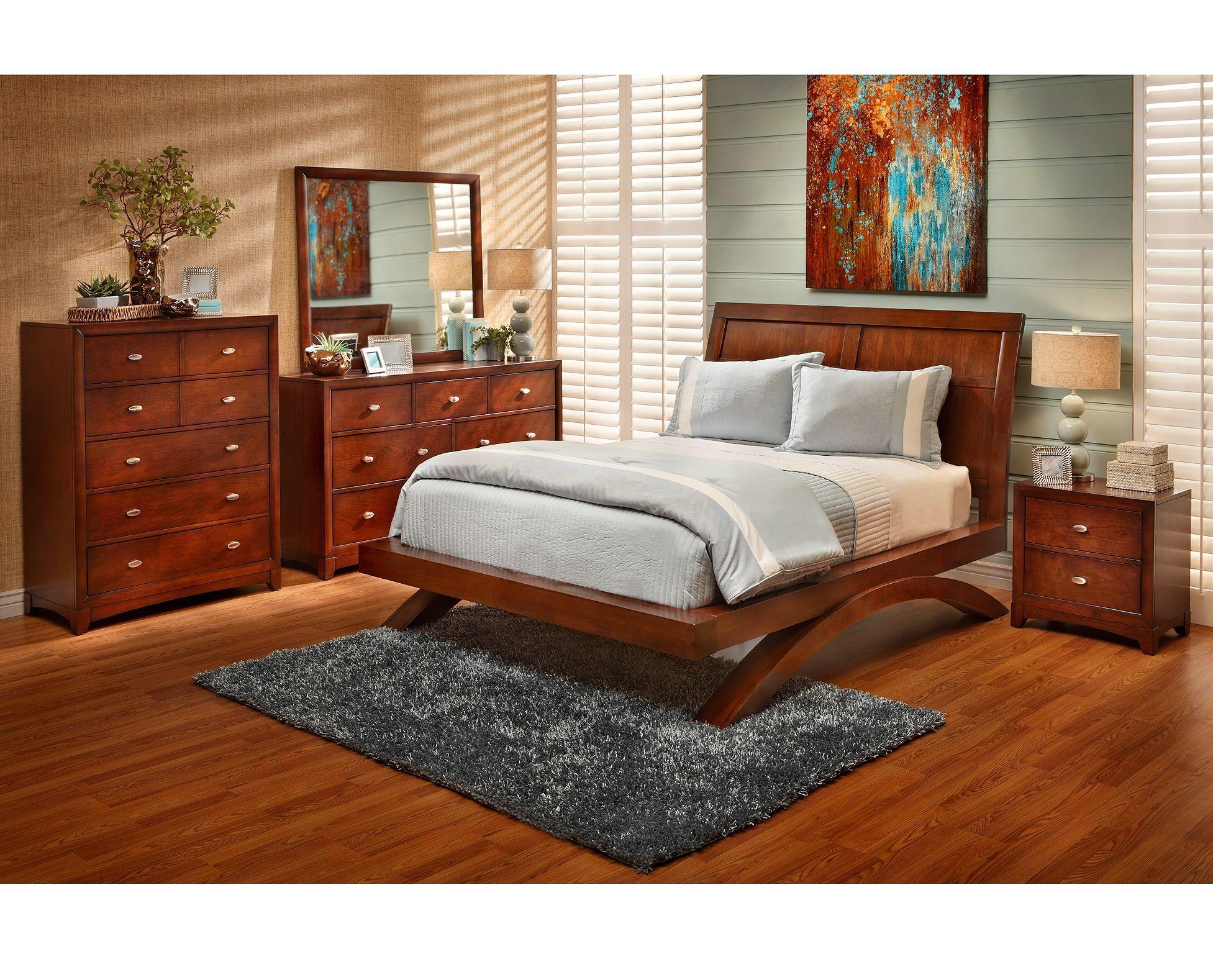 Grant Park Platform Bed (With images) Full bedroom