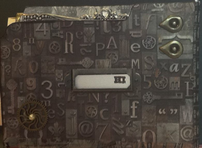 SteamPunk File Folder Album