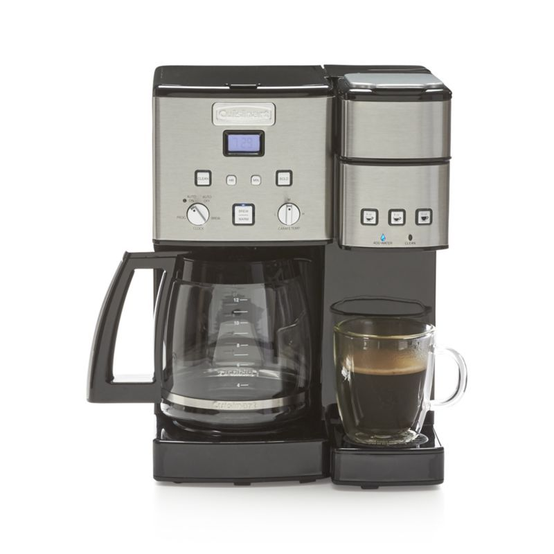 Cuisinart coffee center 12 cup coffeemaker and single