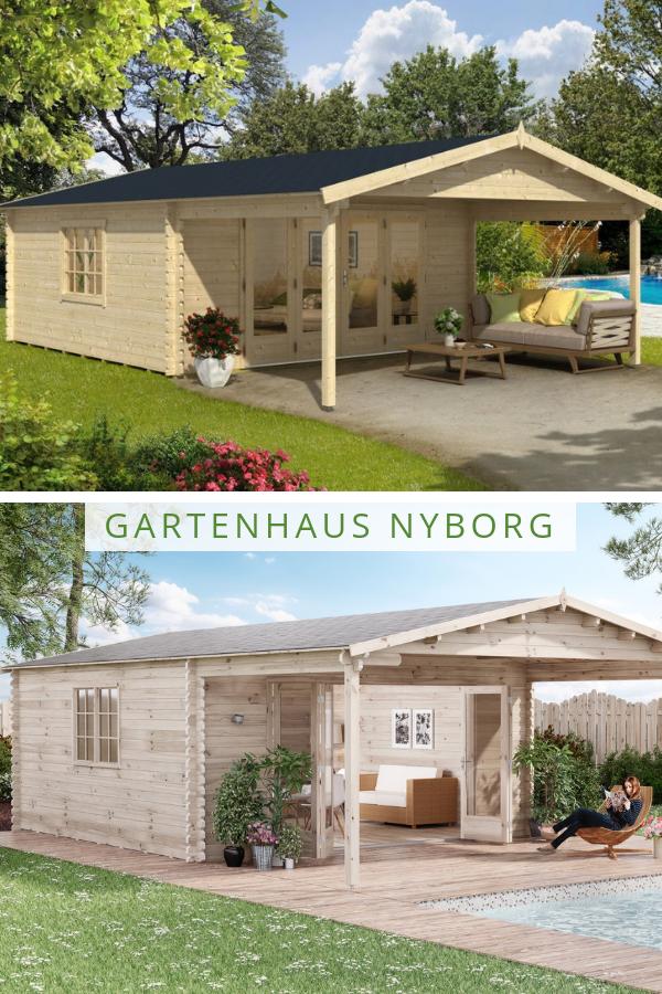 Gartenhaus Modell Nyborg 44 Iso Mit Falttur Gartenhaus Gartenhaus Gross Haus