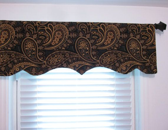 creative bathroom window dcor ideas discount bathroom.htm decorative paisley valance window treatments by supplierofdreams  valance window treatments