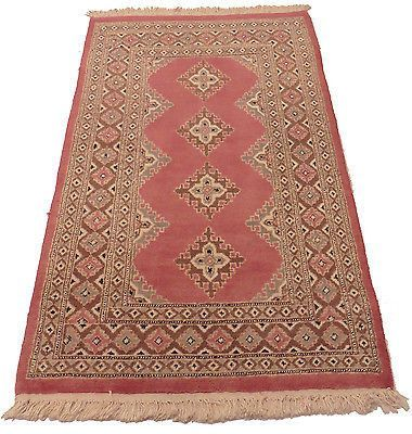 3 1 X 5 New Hand Knotted Wool Oriental Area Rug Bokhara Design