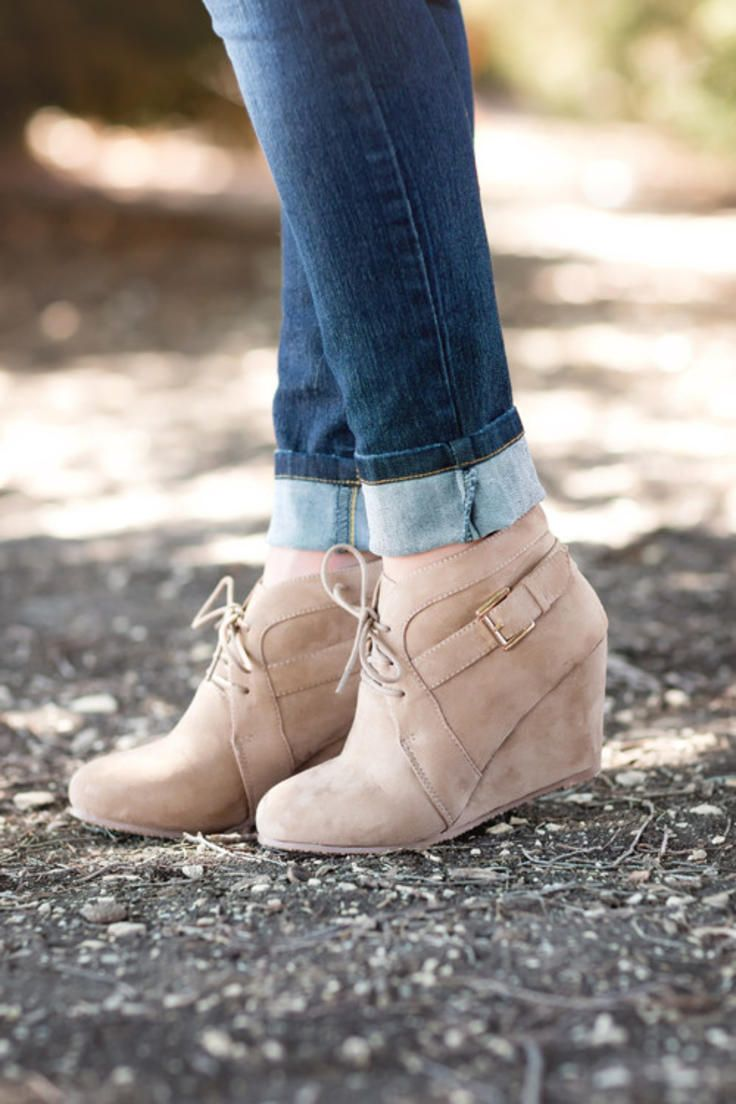 a793377bd4a Buckle Up Booties-Taupe | Boots in 2019 | Shoes, Bootie boots, Shoe ...
