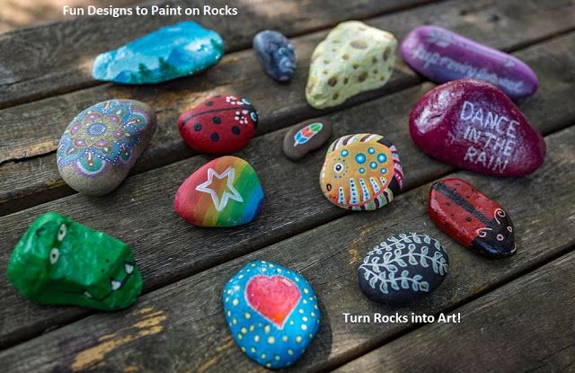 How to Take Ordinary Rocks and Turn them into Works of Art  Kids Craft Ideas is part of Painted rocks kids, Rock painting ideas easy, Rock painting patterns, Rock painting designs, Rock painting art, Art for kids - How to Take Ordinary Rocks and Turn them into Works of Art  Kids Craft Ideas