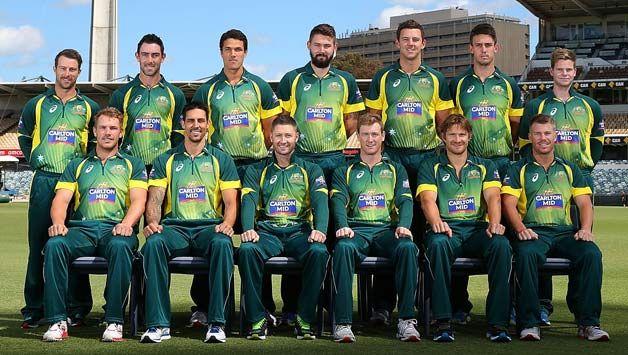 Cricket World Cup 2015 Australian Team Squad Cricket World Cup 2015 Cricket World Cup Cricket Games