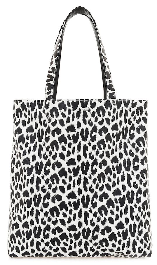 eaffa284bde Paul s Boutique Spring   Summer 2015   Amelie reversible tote bag in  Graphic Leopard Print.