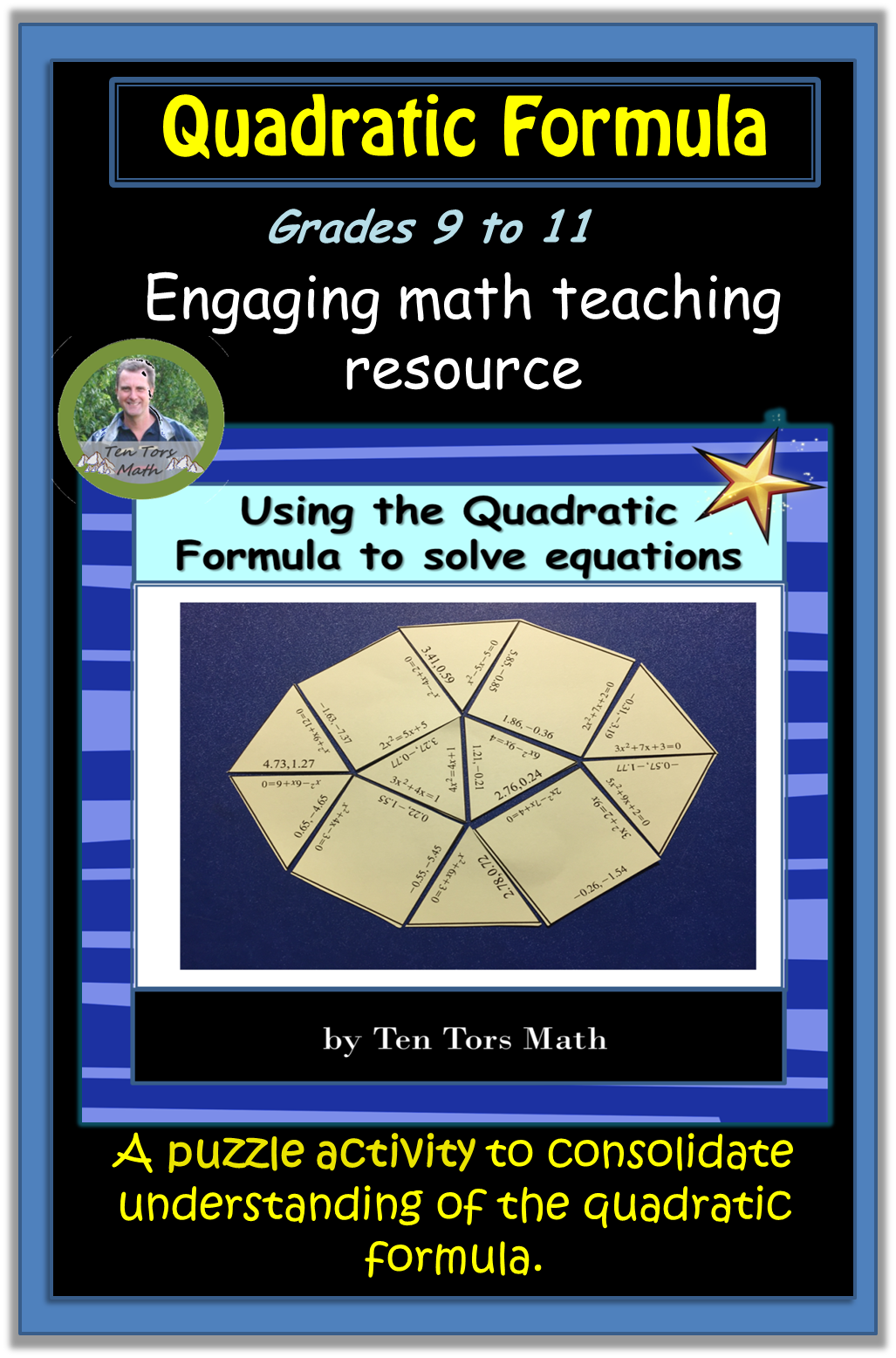 Solving Quadratic Equations With Quadratic Formula