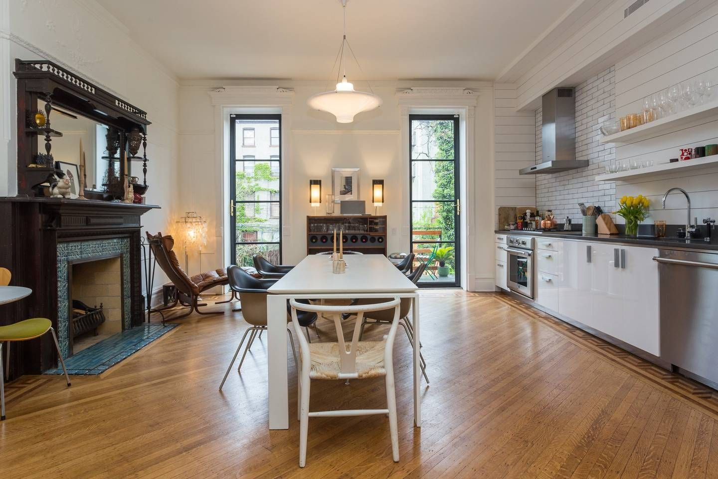Townhouse in Brooklyn, United States. 1,700 square foot