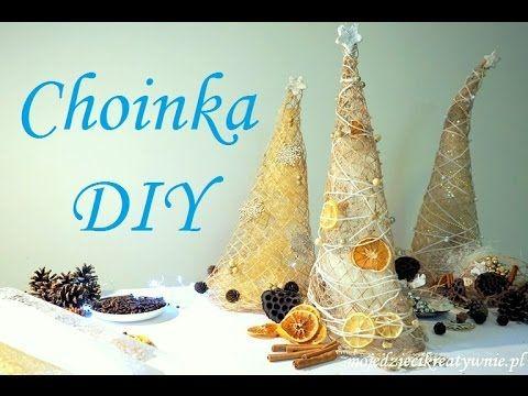 11 Choinka Z Siatki Jutowej Diy Jak Zrobic Choinke Dekoracje Swiateczne Christmas Tree Youtube Christmas Ornaments Holiday Decor Novelty Christmas